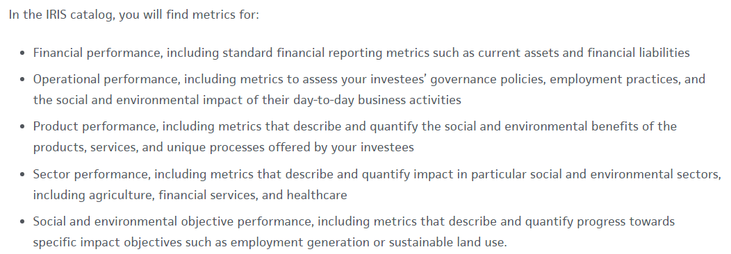 Impact Investing Africa performance evaluation