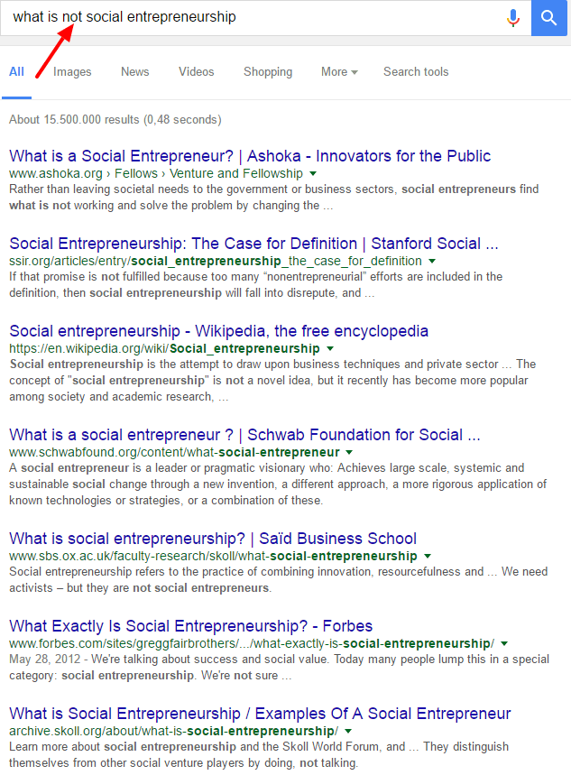 What Is Social Entrepreneurship An African Perspective