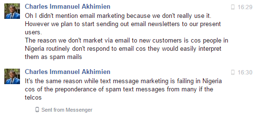 Email marketing Africa