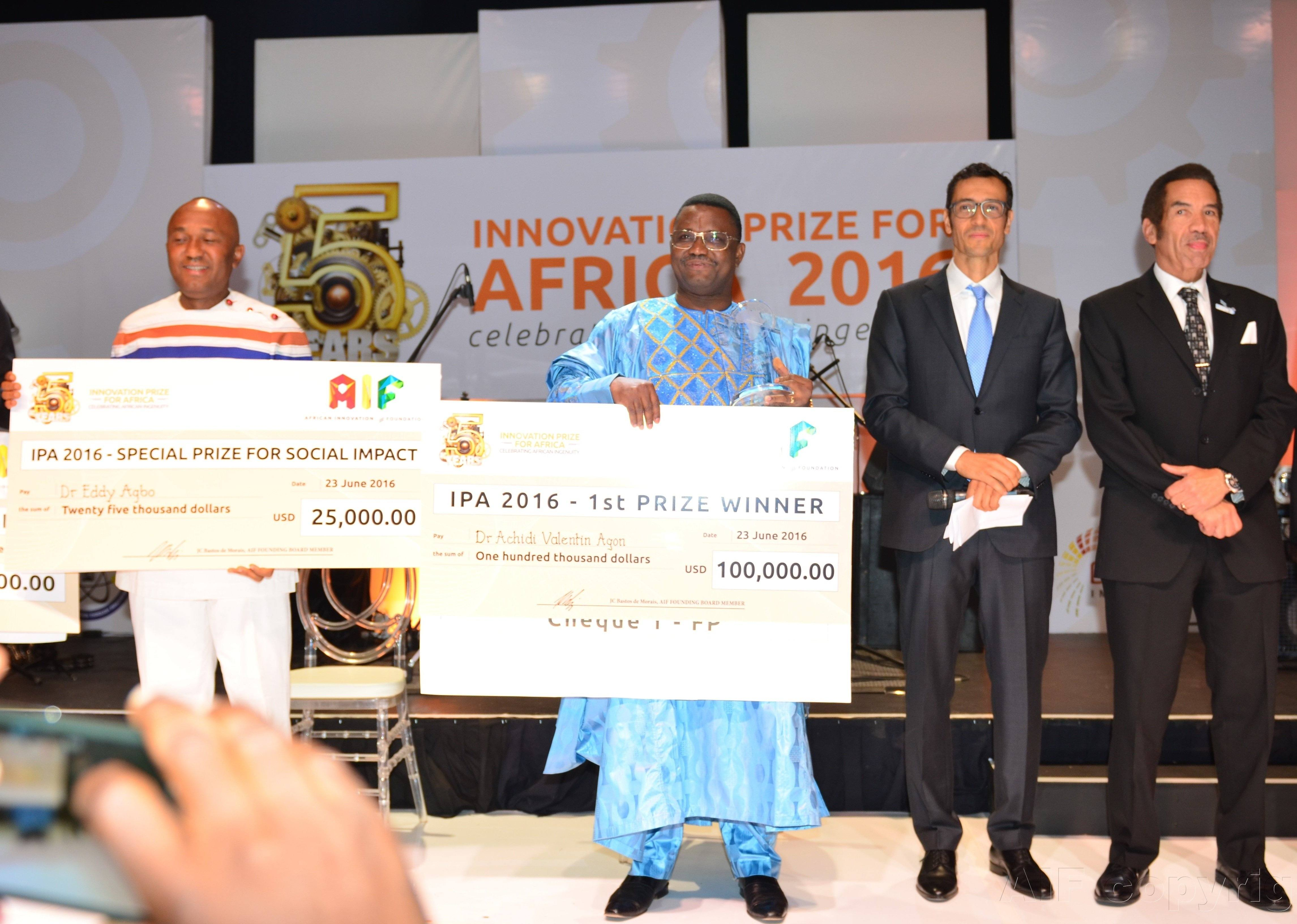Innovation Prize for Africa 2016 winners Botswana