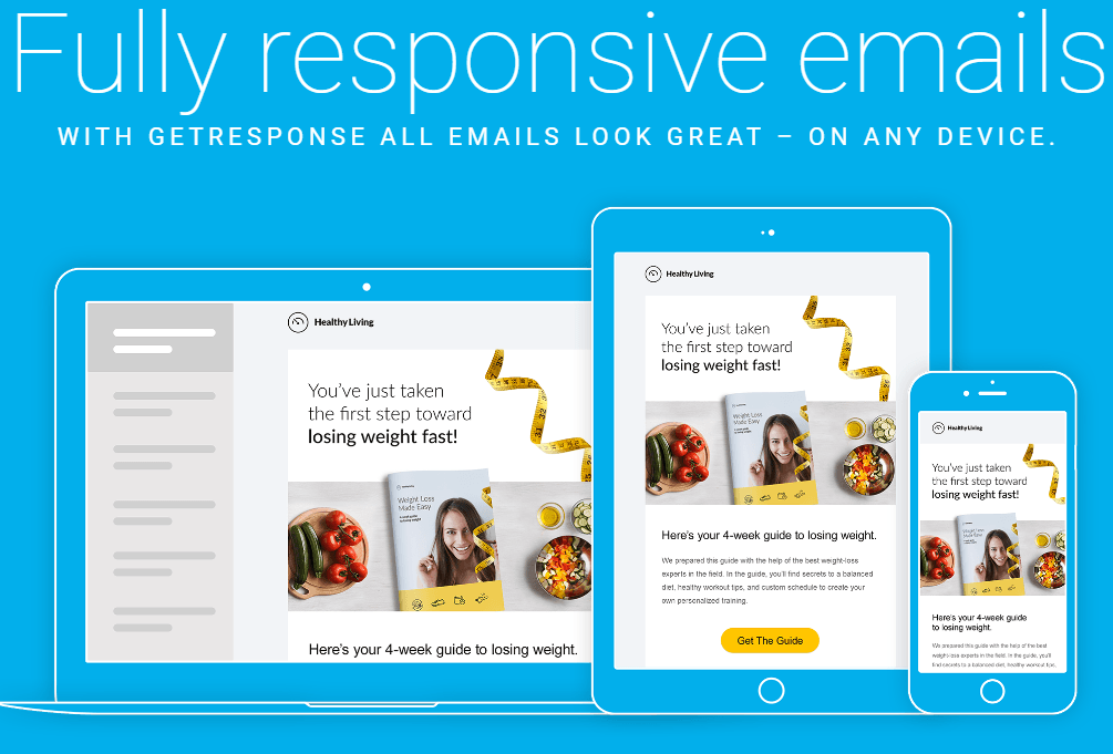 Getresponse review 20117 mobile responsive