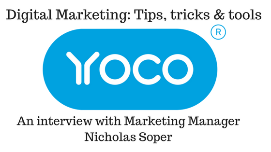 Digital Marketing Yoco Nicholas Soper
